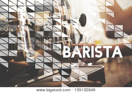 Barista Coffee Shop Occupation Work Concept