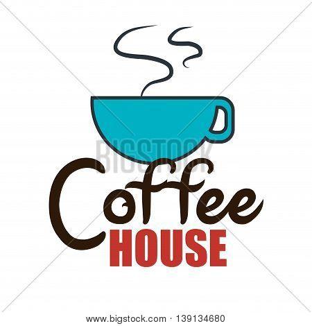 delicious coffee  isolated icon design, vector illustration  graphic