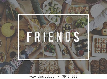 Friendship Connection Relationship Together Concept