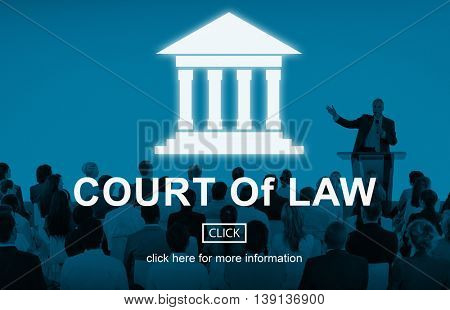 Government Authority Law Pillar Graphic