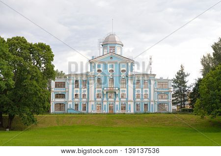Vorontsov palace or Novoznamenka in St.Petersburg Russia. Estate of Chancellor Mikhail Vorontsov