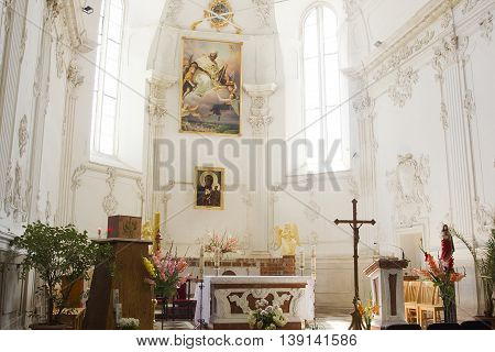 Ukraine Kamenets-Podolsky Dominican Church of St.. Nicholas 07/12/2016