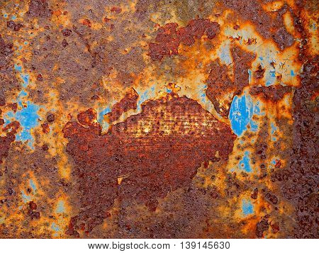 Iron metal surface rust great background and texture image