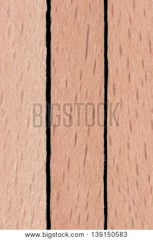 Decorative wooden placemat texture background, close up