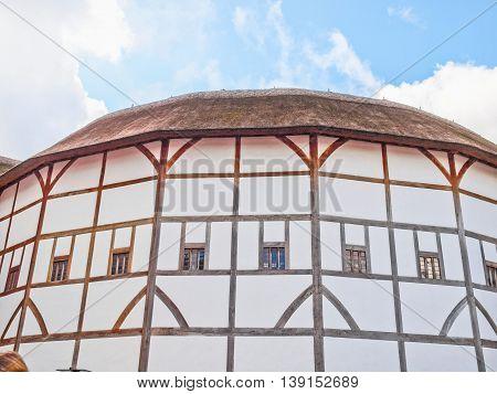 Globe Theatre, London Hdr