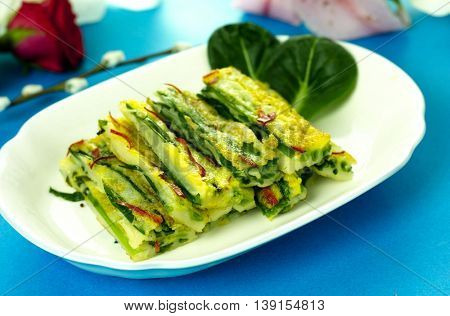 Traditional Korean Food Pajeon