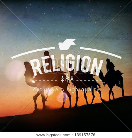 Religion Believe Faith Hope Pray Worship Belief Concept