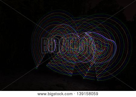 Light Painting, Photography In The Night