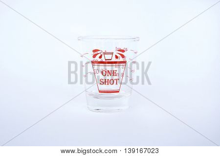 Ounce glass, the glass measuring cup, One shot