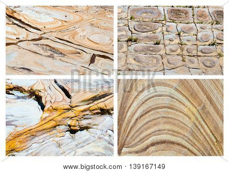 Australian Rock Formation Background, Sandstone Texture