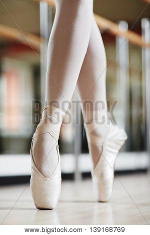 Legs of performer