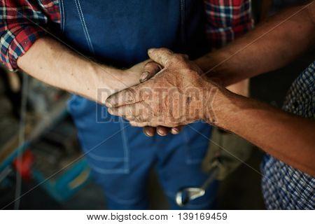 Skillful hands