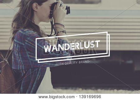 Trip Tourism Worldwide Wanderlust Lifestyle Concept
