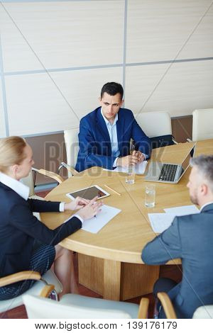 Interacting by table