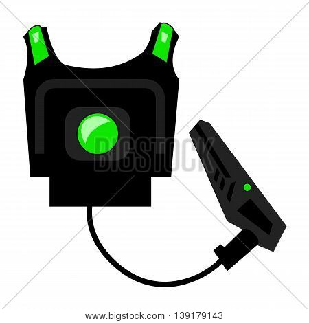 laser game equipment vest and laser gun laser tag