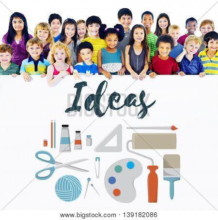 Ideas Creative Design Imagination Inspiration Concept