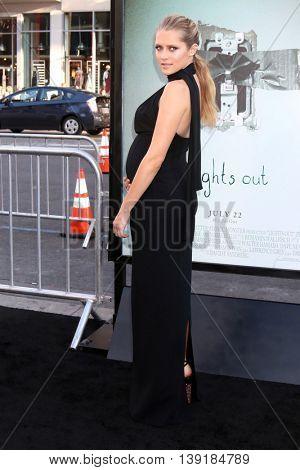 LOS ANGELES - JUL 19:  Teresa Palmer at the