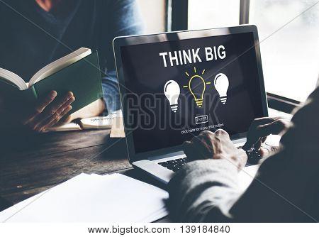 Ideas Creative Thinking Imagine Inspiration Concept