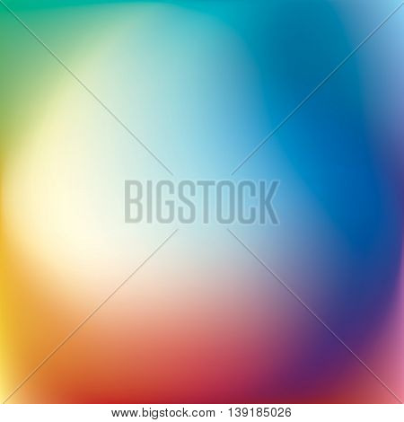 Abstract vector mesh background, color gradient, vector wallpaper, twisted rainbow