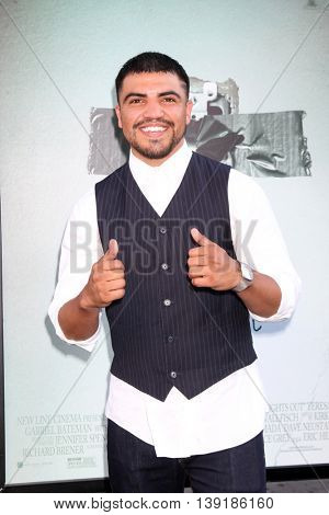 LOS ANGELES - JUL 19:  Victor Ortiz at the