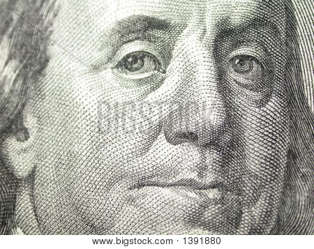 Ben Franklin Close-Up