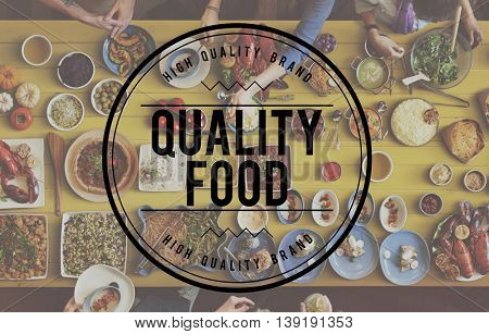 Quality Wine Dining Food Meal Concept