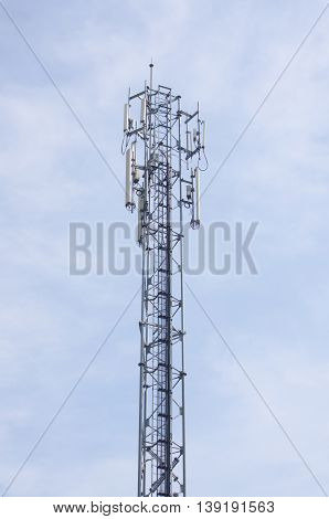 Antenna signal distribution networks and cellular communication.