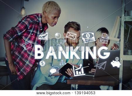 Banking Financial Economy Money Currency Concept