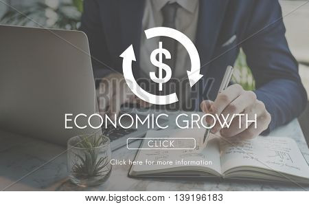 Economic Growth Business Cycle Financial Concept