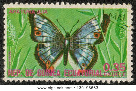 GUINEA - CIRCA 1979: A Stamp printed in Guinea shows a series of images
