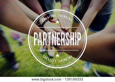Partner Partnership Team Unity Togetherness Concept