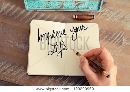 Handwritten Text Improve Your Life