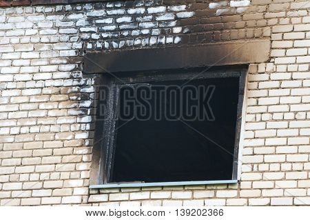 window after fire