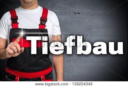 Tiefbau (in German Civil Engineering) Touchscreen Is Shown By The Craftsman