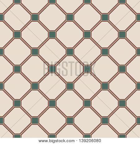 Floor Tiles Pattern, Nature Colors