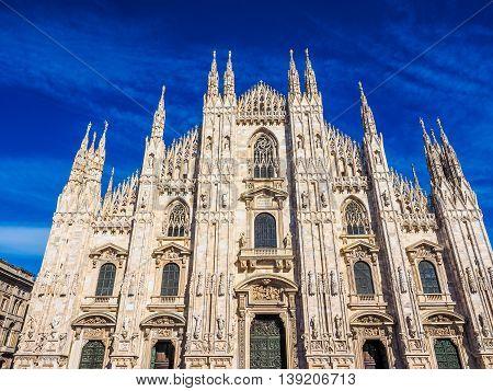 Milan Cathedral Hdr