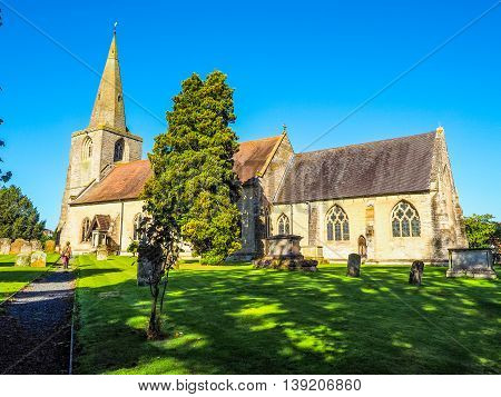 St Mary Magdalene Church In Tanworth In Arden Hdr