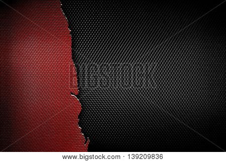 cracked metal mesh background