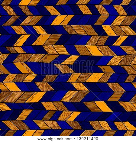 Seamless sennit pattern, vector multicolored texture for fashion textile, wrapping paper