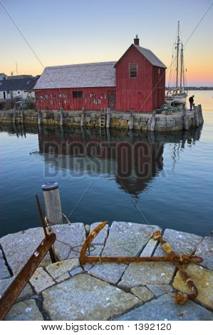 Most Photographed Famous Fishing Shack In New England