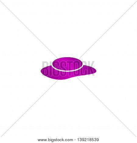 Ladies Hats, Web Icon. Vector Design