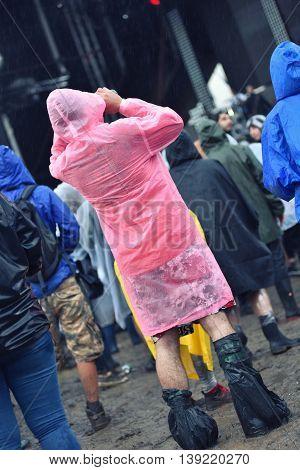 Rainy Days At A Music Festival