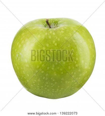 A Green apple isolated in white background