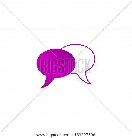 Speech Bubbles Icon.