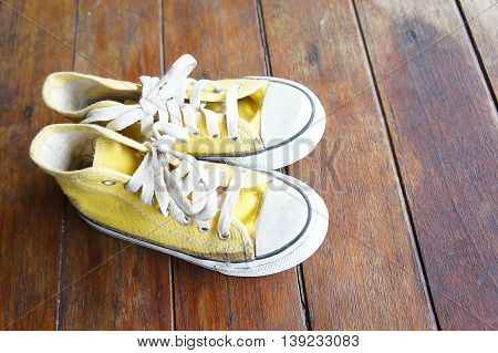 Many people wear shoes with a unique style, sneakers