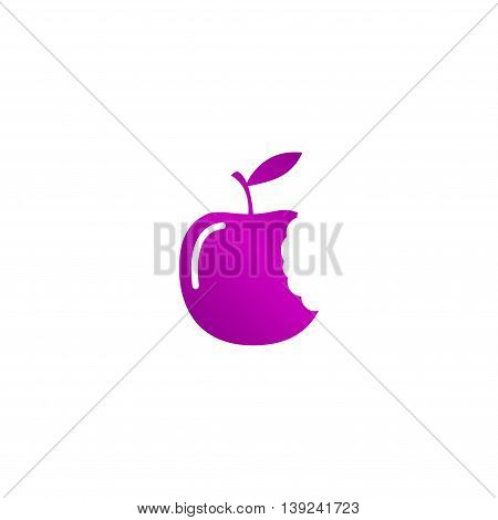 Bitten Apple Icon