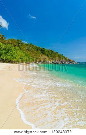 Beautiful tropical Thai beach