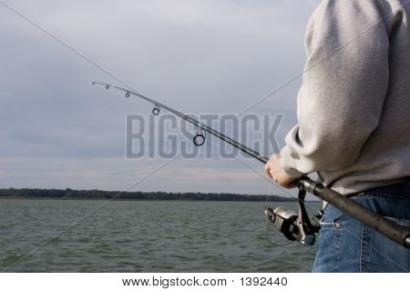 Fishing At The Coast
