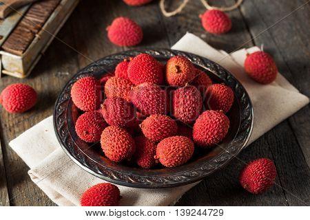 Raw Organic Red Lychee Berries