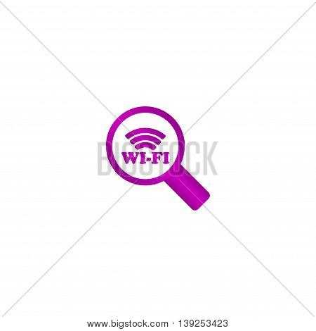 Search Wi-fi Connection Flat Icon